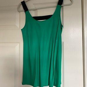 Green theory sleeveless top